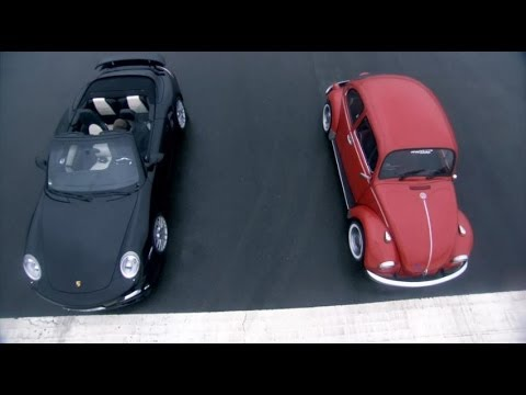 Porsche Turbo vs VW Beetle - Top Gear - BBC