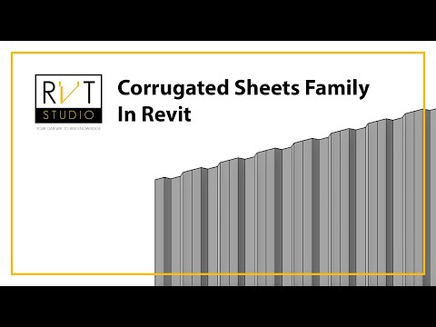 create-corrugated-sheets-easily-in-revit!