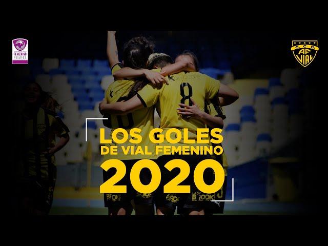 Los goles de Vial Femenino en la temporada 2020