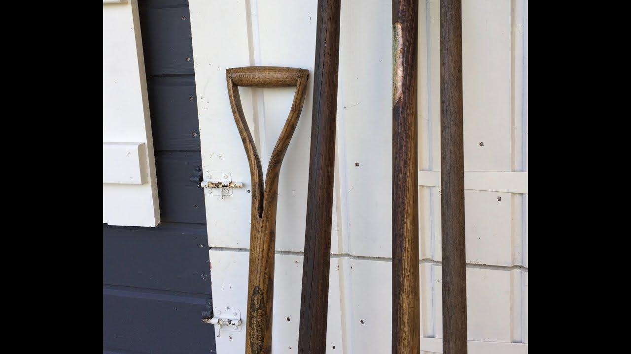 Entretien des manches en bois d\'outils de jardin