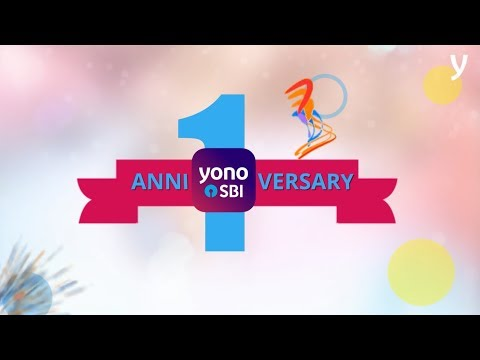 YONOVERSARY - celebrating the first anniversary of YONO