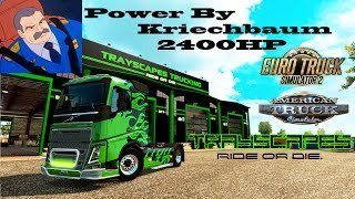 Testing The Fastest Truck In The World For ATS and ETS2  2400 HP