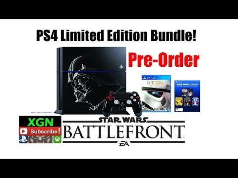 Star Wars Battlefront PS4 Bundle Pre-Order Limited Edition Console At Amazon