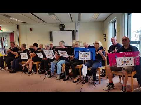 Daydream Believer played by the Oldham U3A Ukulele Group  09.08.17