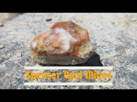 Spencer Opal Mines - Digging Opals