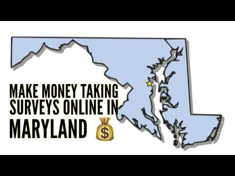 Make Money Taking Surveys Online In Maryland - Make Money Taking Online  Surveys In Maryland