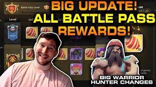 All Battle Pass Rewards ⭐ + Balance Notes Breakdown | HUGE Auto Chess Mobile Patch Season 1