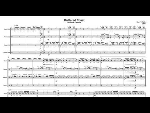 Buttered Toast - Drumline Cadence