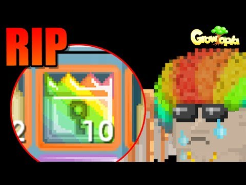 Almost poor! Bought 10 Royal Locks for fans! | Growtopia
