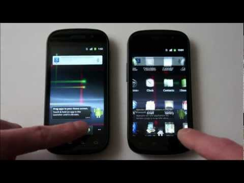 SC-LCD vs SAMOLED - Samsung Nexus S - Screen test comparison
