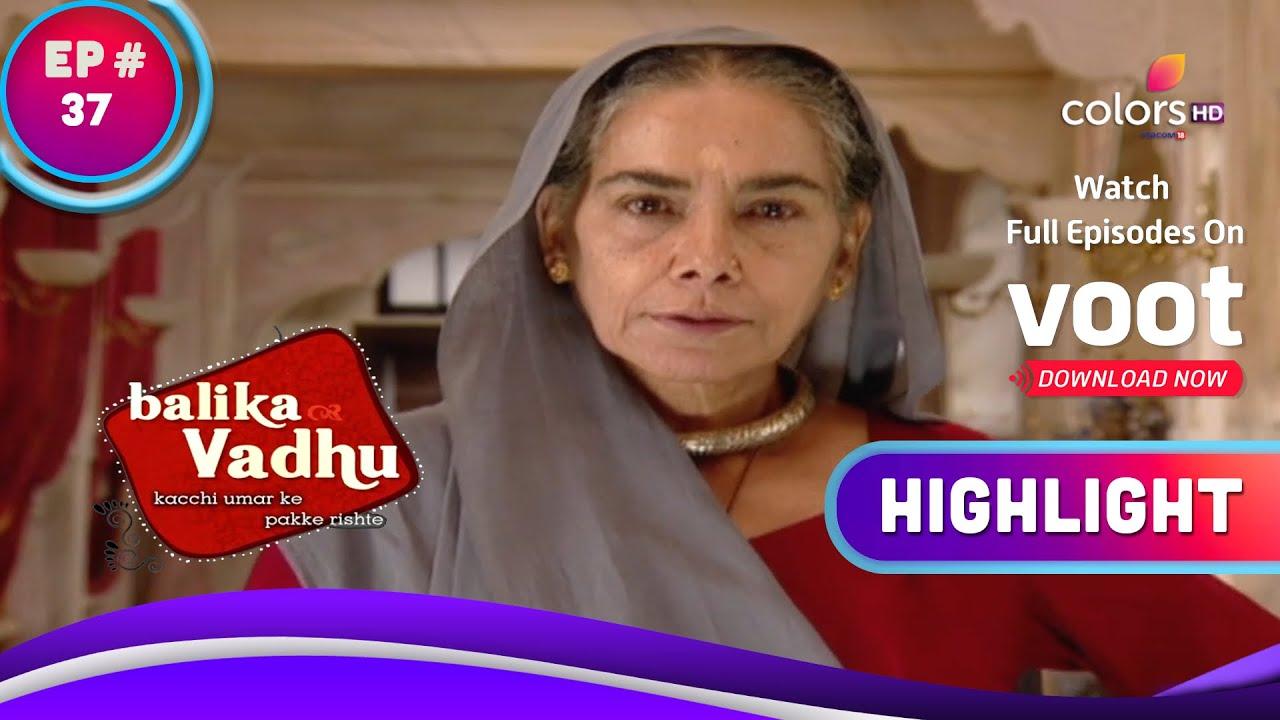 Download Balika Vadhu | बालिका वधू | Kalyani Punishes Anandi | कल्याणी ने आनंदी को दी सज़ा