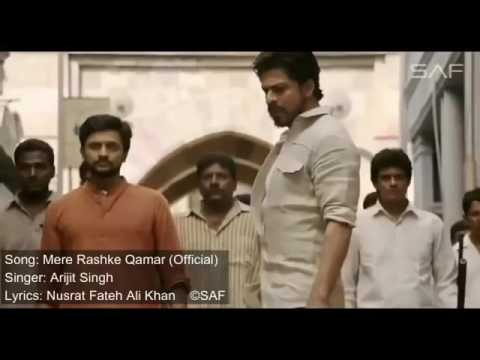 mere Rashke Qamar full song   (offical) arijit sing ||movie|| Raees ||