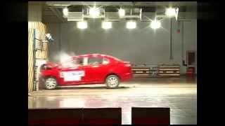 Краш-тест седана DFM A30 по методике C-NCAP