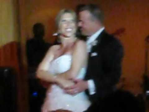 Romantic and Cute First Wedding Dance to Aaron Lewis  Tangled Up in You