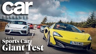 Sports Car Giant Test 2019 | CAR