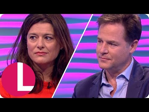 Nick Clegg and Miriam González: Our Teenage Son's Cancer Battle | Lorraine