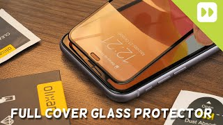 Olixar iPhone 11 Full Cover Glass Screen Protector Installation and Review