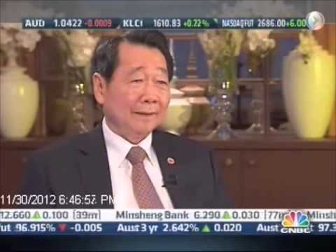Dhanin Chearavanont on CNBC Managing Asia 2012