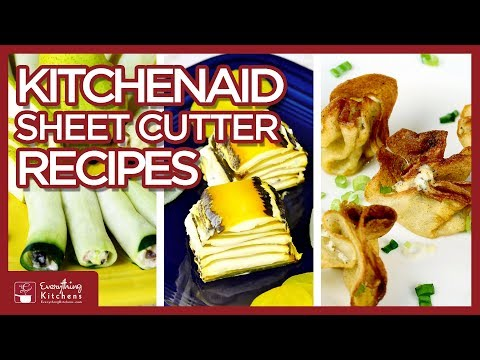 KitchenAid Sheet Cutter Recipes - KitchenAid Mixer Attachment