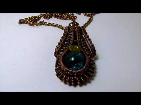 20 cool jewelry items you can make yourself necklace with blue glass orb and little agate solutioingenieria Images
