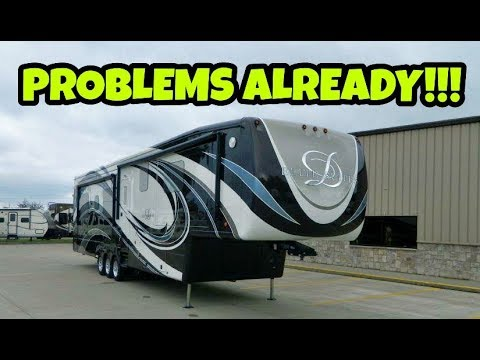BRAND NEW RV ALREADY RUSTING??  Should You Worry?