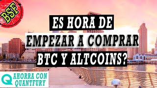 Bitcoin: miedo o avaricia? Preparar las COMPRAS para las proximas semanas...