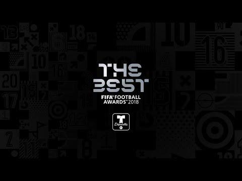 La alfombra verde de los premios The Best | Premios The Best de la FIFA | Telemundo Deportes