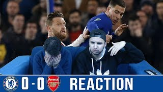 ARSENAL CLAIM 0-0 DRAW AT CHELSEA IN CARABAO CUP SEMI-FINAL 1ST LEG - REACTION