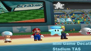 Mario Party 5 - Mini Game Decathlon Stadium [TAS]
