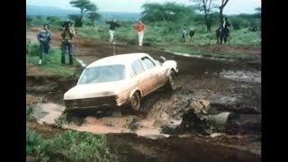 Mercedes Rally Aufnahmen - Fahrzeuge w123 / w107 - 1977