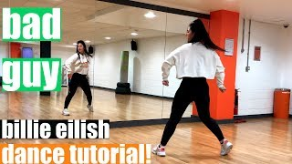 bad guy Billie Eilish Dance TUTORIAL