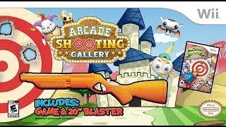 Retro classic day(nintendo wii:arcade shooting gallery)