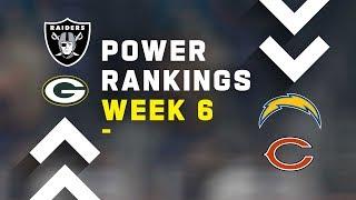 Week 6 Power Rankings!