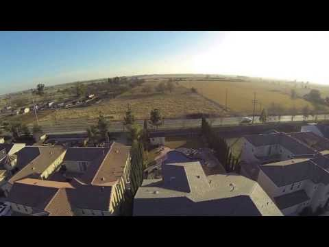 Elk Grove, CA Visit - Amateur Aerial Video
