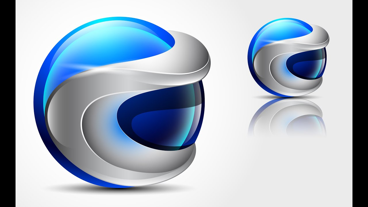 how to create 3d logo design in adobe illustrator cs6 hd