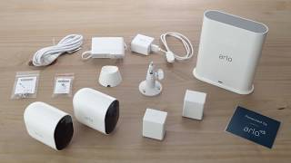 Zapętlaj Unboxing the Arlo Pro 3 Wire-Free Security Camera | Arlo Smart Home