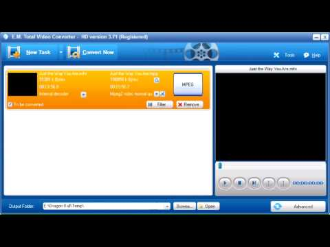 Hướng dẫn convert Video clip trước khi upload lên Mediasharing trên MyTV