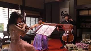 Mendelssohn「弦楽四重奏曲第2番イ短調 第1楽章」 2018若き演奏家たちによるクラシックアンサンブル in 古民家山十邸