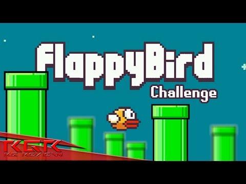 Flappy Bird Challenge | นกเชี่ยในตำนาน... (เป้าหมาย 100 คะแนน)