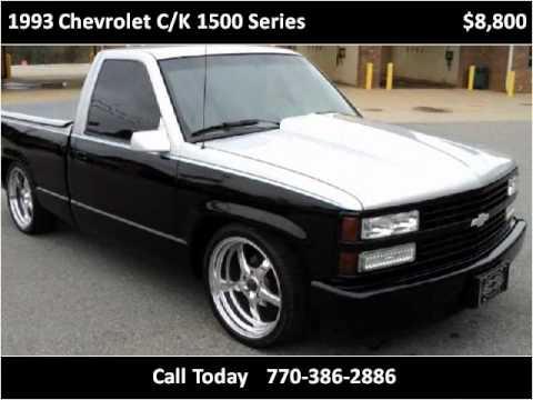 1993 Chevrolet CK 1500 Series Used Cars Cartersville GA