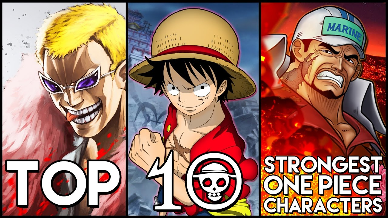Top 10 Strongest One Piece Characters - YouTube