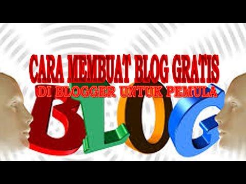 Panduan Membuat Blog/web Gratis Di Blogger Untuk Pemula