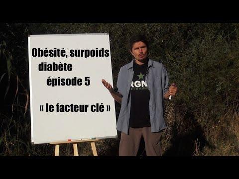 """Obésité, surpoids, diabète, comprendre et agir n°5 - Le """"facteur clé"""" - www.regenere.org"""