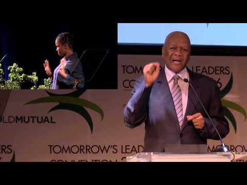 The Honourable Minister Jeff Radebe keynote address at Old Mutual Tomorrow's Leaders Convention 2016