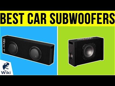 10 Best Car Subwoofers 2019