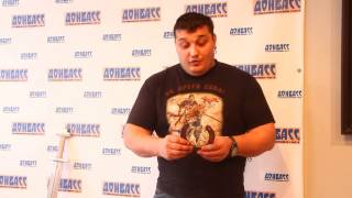 Дмитрий Халажди возродил старинный трюк с подковой