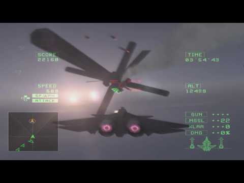 Ace Combat 5 Final Boss with the Zero OST