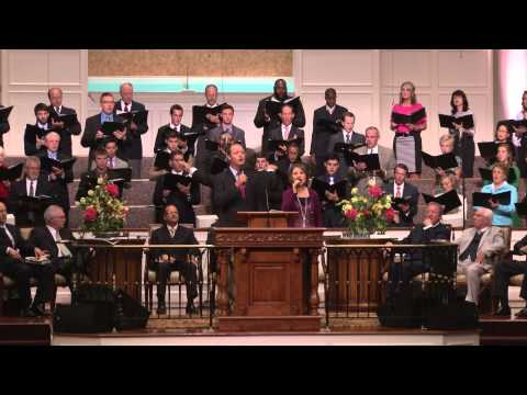 To Rescue a Sinner Like Me given by Steven and Lydia Scoggins  and Temple Choir