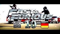 FAST AND FURIOUS 10 TRAILER (2022) GERMAN/DEUTSCH FAN MADE 4k