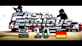 FAST AND FURIOUS 10 TRAILER (2022) GERMAN/DEUTSCH FAN MADE 4k